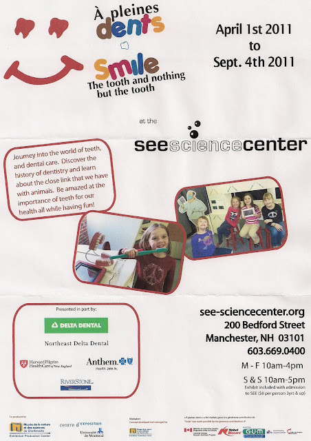flier from SEE Science Center