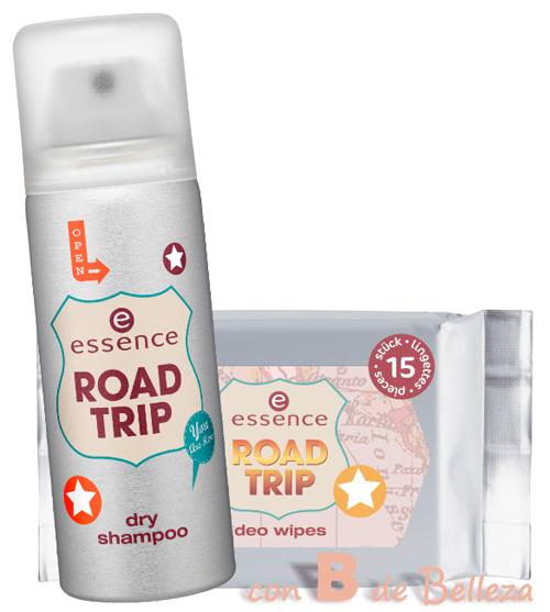 Champú en seco de Essence Review Toallitas desodorantes