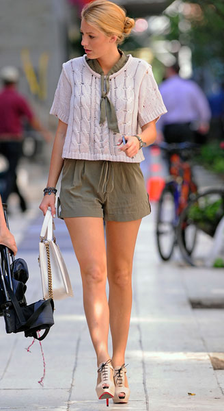 Street Style Celebrities Blake Lively