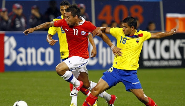 Chile vs Ecuador en vivo