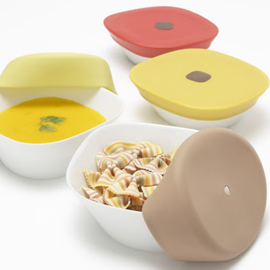 ceramic food storage containers with silicone lids
