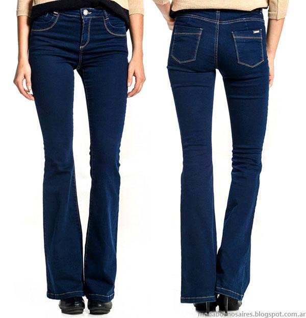 Jeans oxford otoño invierno 2015 Markova Jeans Mujer.