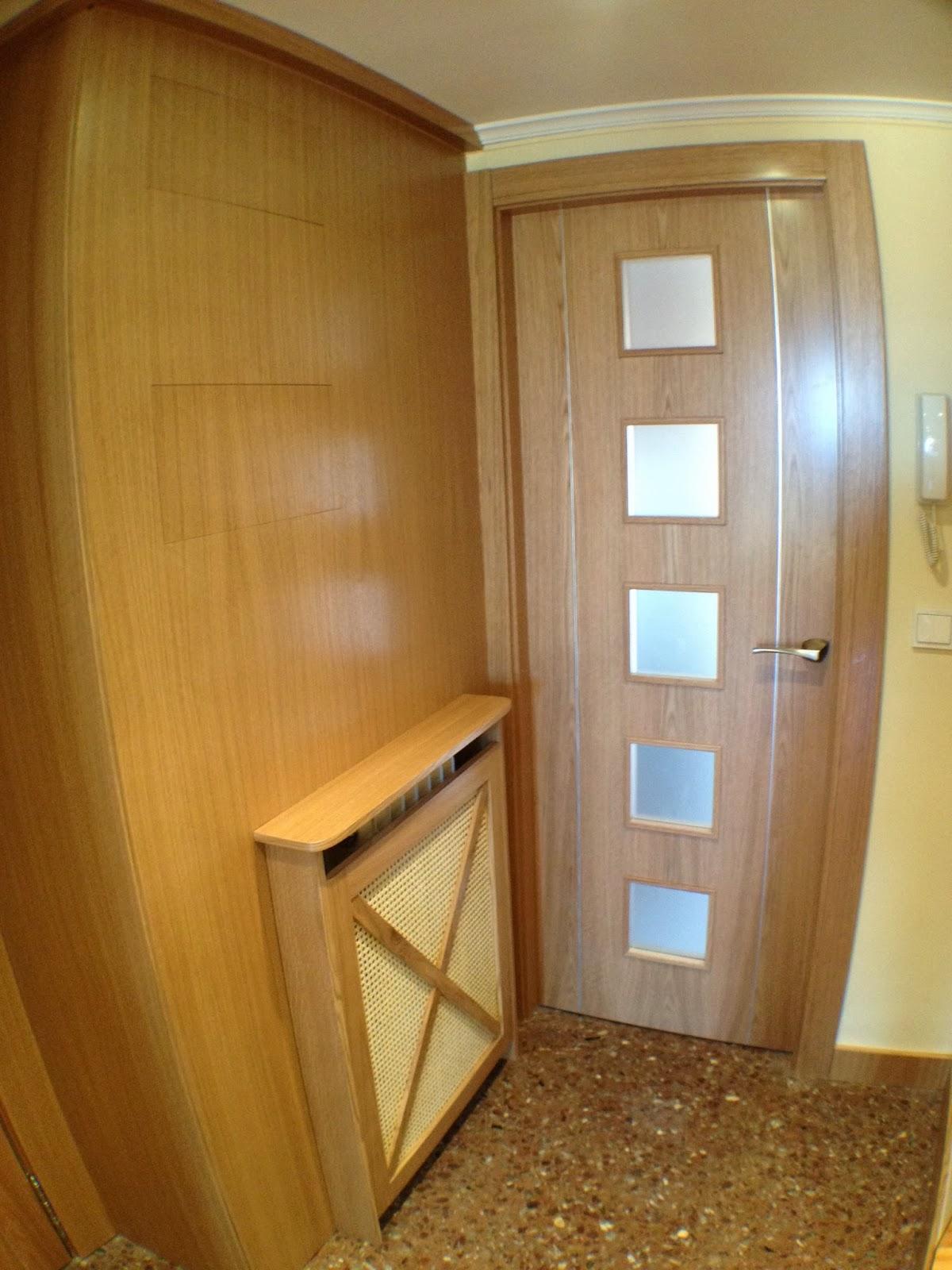 Ebanisteria carpinteria manuel perez zaragoza for Puertas madera a medida