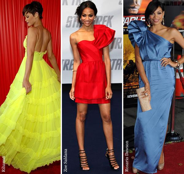 vestidos sociais da moda
