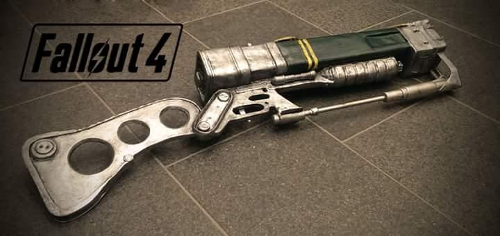 Chrix design fallout 3 aer9 laser rifle malvernweather Gallery