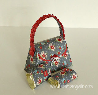 Stampin' Up! Petite Purse with Twitterpated DSP