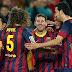 أهداف مباراة برشلونة وآلميريا 4-1 الدوري الإسباني