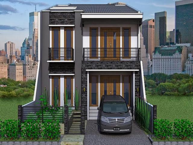Desain Rumah Bertingkat Minimalis