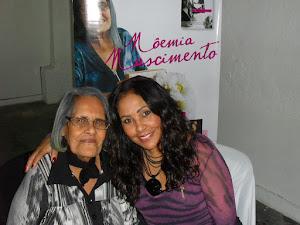 Rose Nascimento e sua mãe no lançamento do livro!