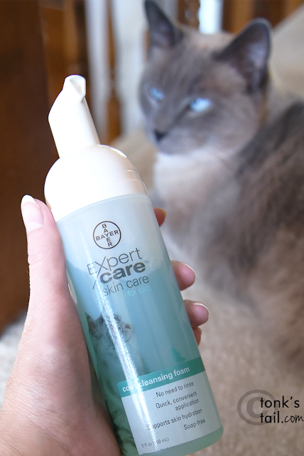 Coat Cleansing Foam from Bayer Expert Care