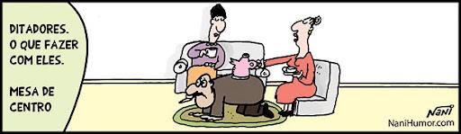 Ditadores: O que fazer com eles. mesa de centro