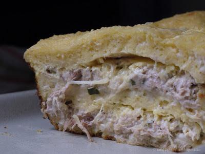 Voir la recette : Croqu'cake au roquefort ou autre fromage