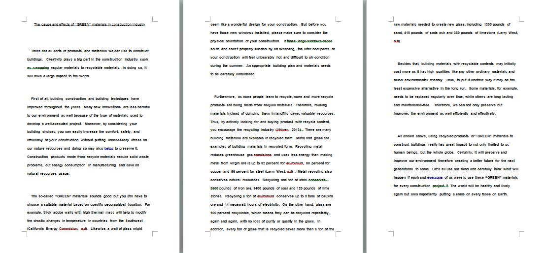 technique in writing essay