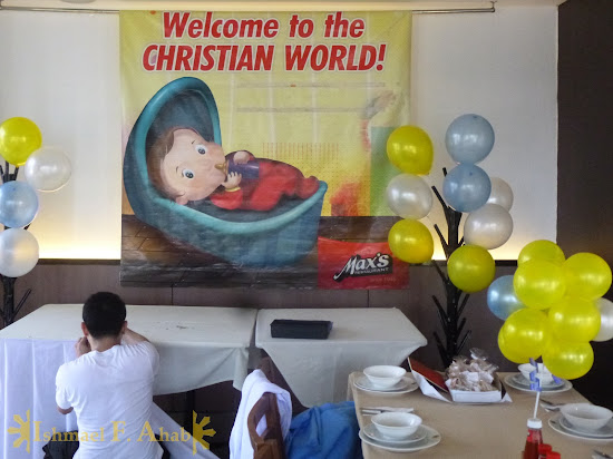 Max's Restaurant preparing for the christening party of Little Ahab