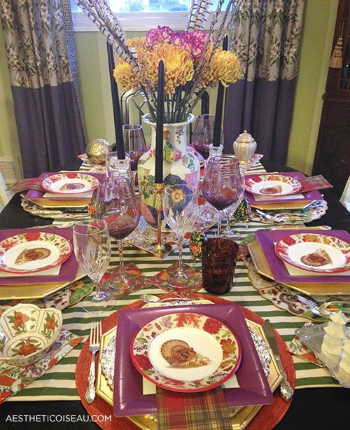My Paper Plate Thanksgiving Caspari Style & Aesthetic Oiseau: My Paper Plate Thanksgiving Caspari Style