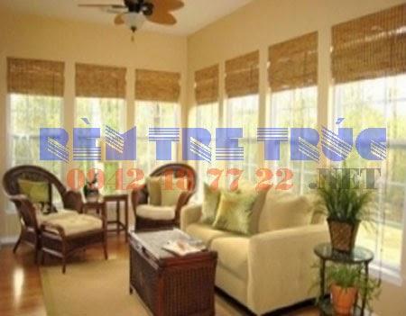 Lắp đặt mành rèm tre trúc cửa sổ giá rẻ