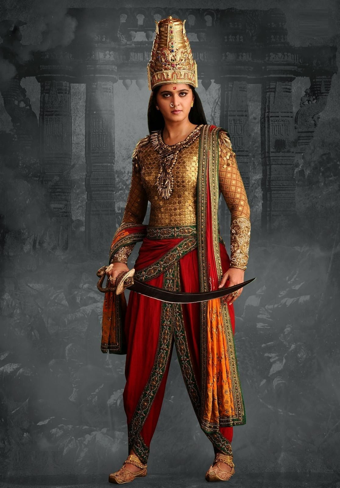 Rudramadevi movie new still