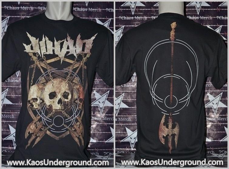 kaos band jihad underground metal bandung riotic