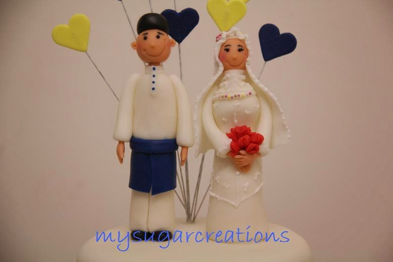 Malay Wedding Couple Figurine Making Class