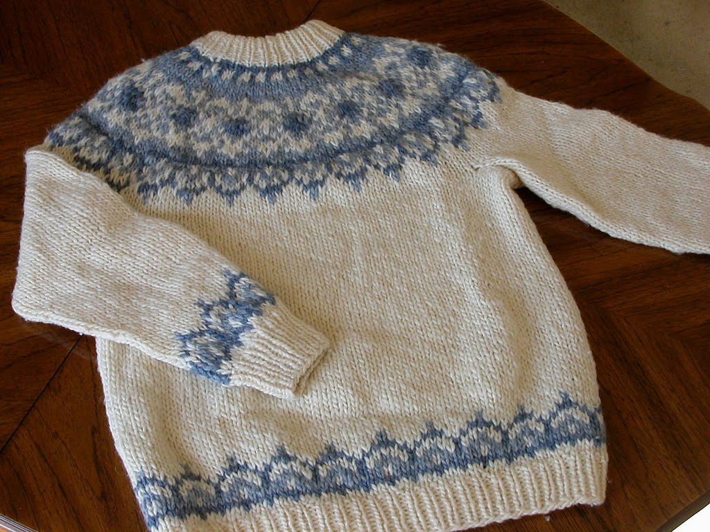 Icelandic Sweaters Knitting Patterns 6