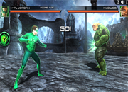 Linterna Verde Combat 3D