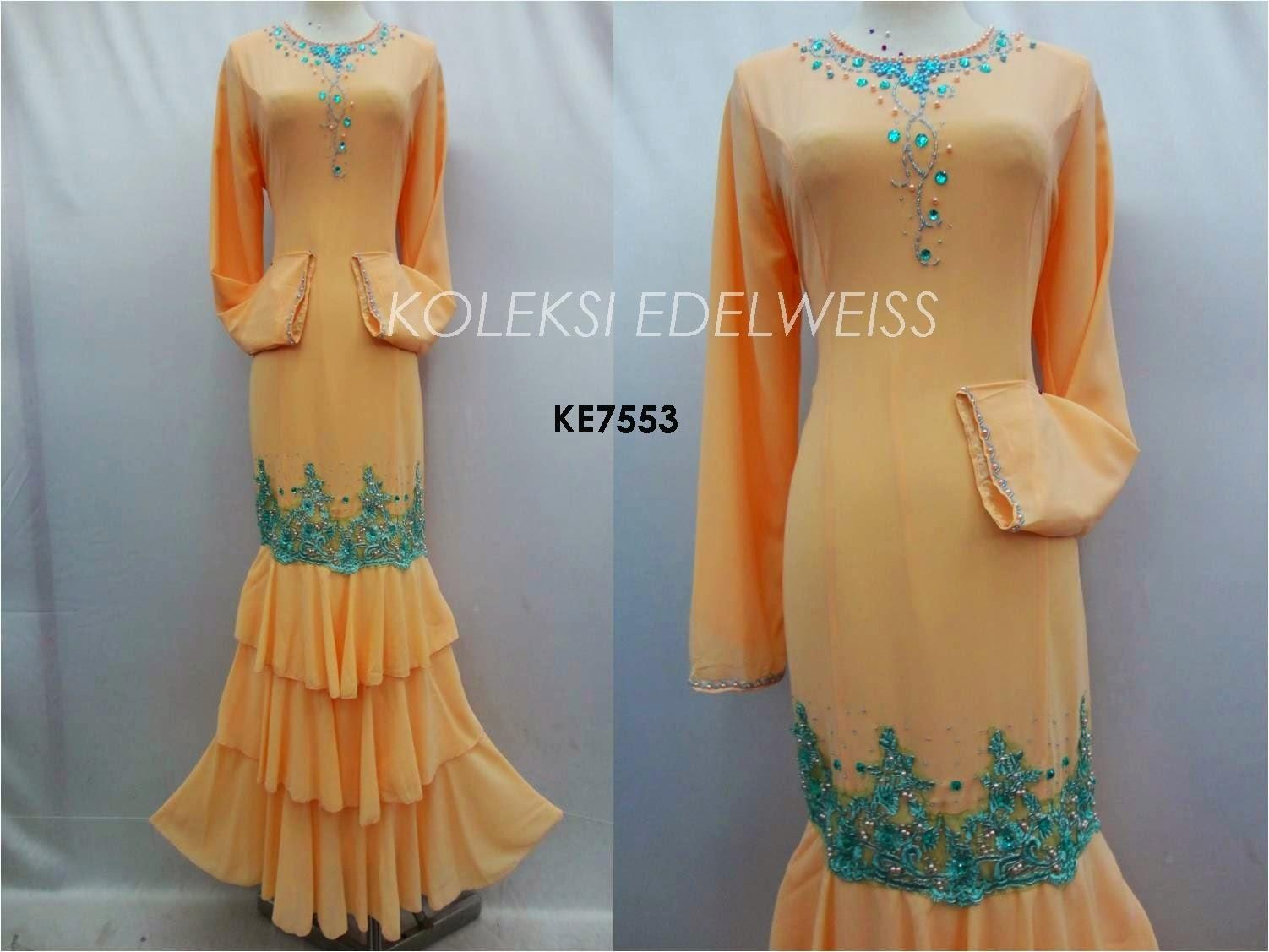 Dress Tunang Exclusive Dress Shafira