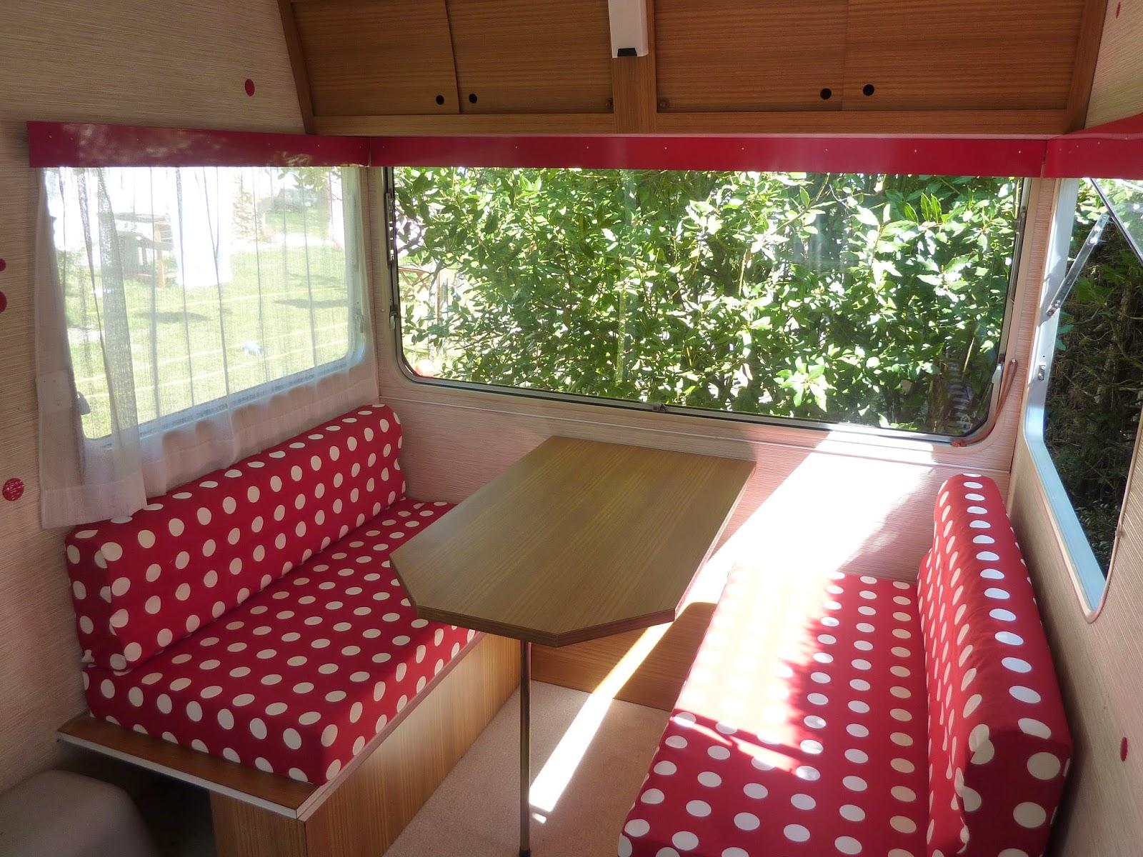 Coussin Banquette Caravane