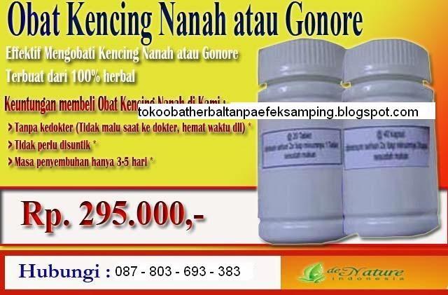 Obat Kencing Nanah atau Gonore