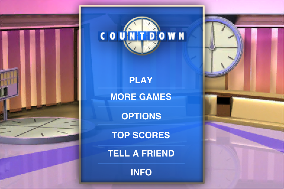 The best IPhone and IPod Touch Apps: Countdown - Official TV Show App