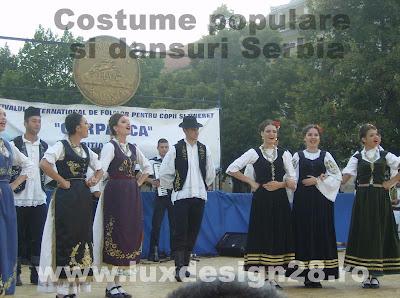 Costume populare si dansuri din Serbia