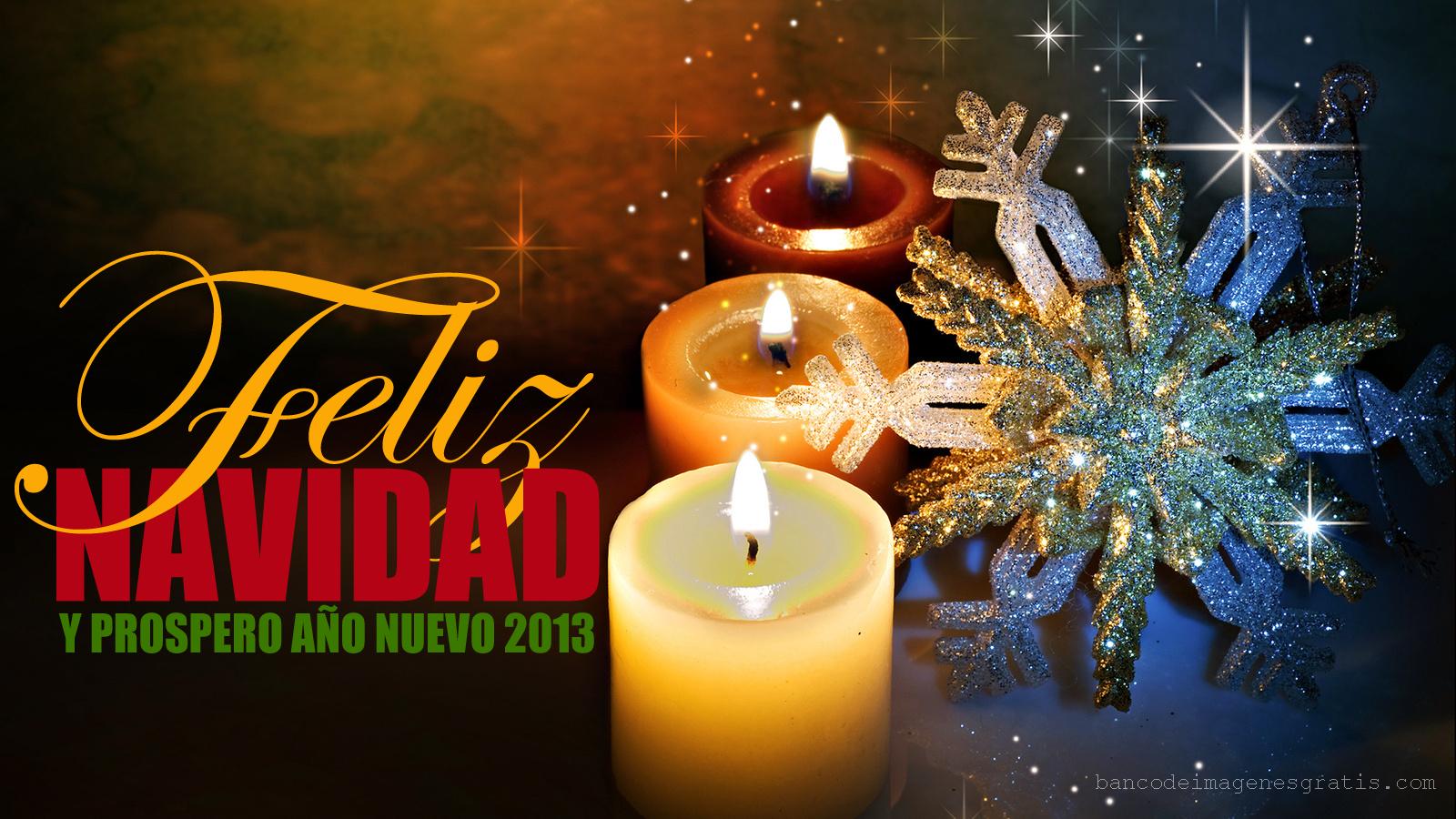 """... mensaje """"Feliz Navidad y Próspero Año Nuevo 2013″ para compartir"""