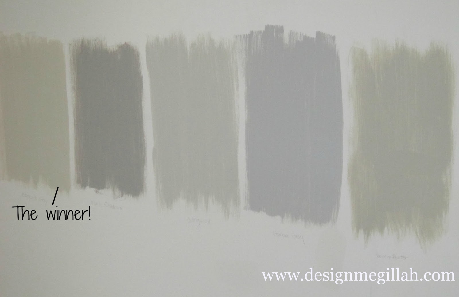 Master Bedroom Color Sample