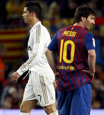 Messi vs Cristiano Spanish Super Cup 2011