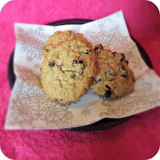 egg free oatmeal raisin cookies