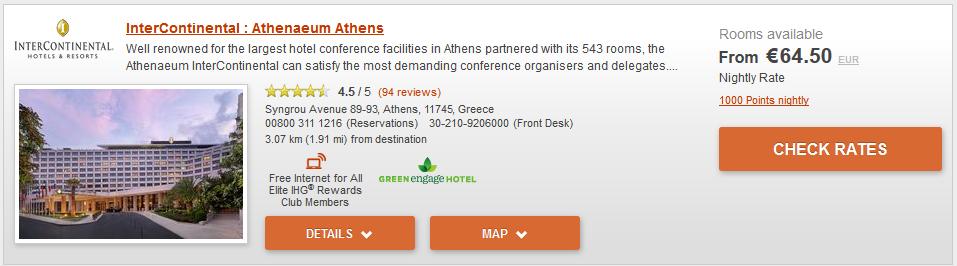 InterContinental Athenaeum Athens