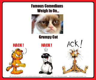 Grumpy Cat Garfield Bucky Katt Get Fuzzy Bill the Cat Opus Bloom County Berkley Breathed Outlands Comedians Comics Comedy Ack