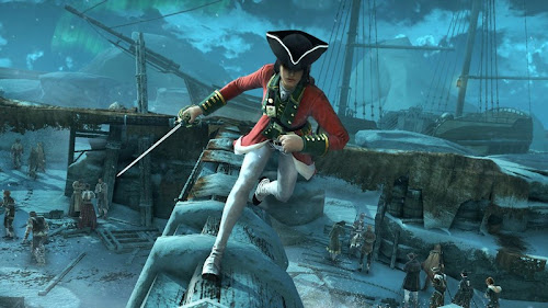 Screen Shot Of Assassin's Creed 3 (2012) Full PC Game Free Download At Downloadingzoo.Com