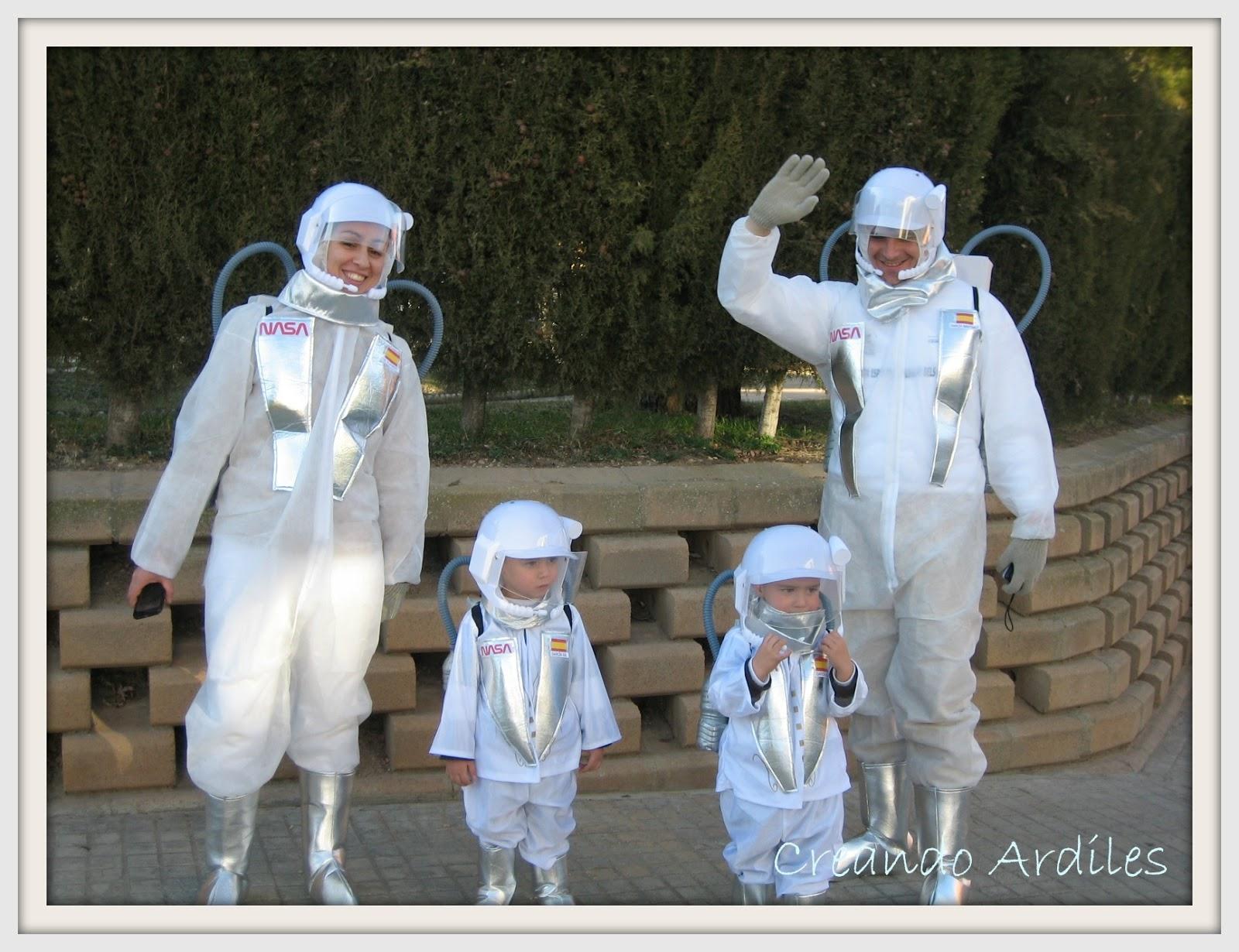 Creando Ardiles: Disfraz casero Astronauta