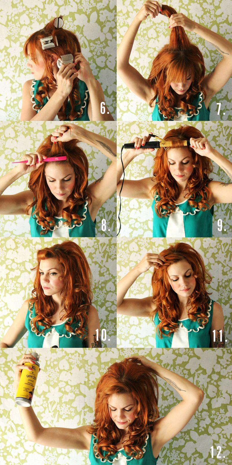 Причёски локоны на средние волосы в домашних условиях
