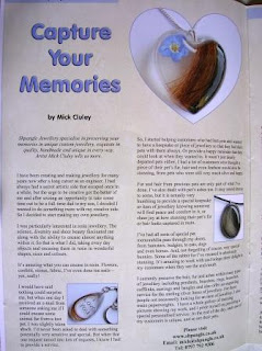 Capturing Your Memories - My Magazine Feature