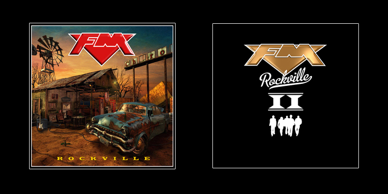FM - Rockville and Rockville II albums - CD front