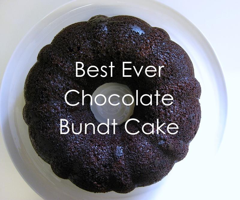 My Handmade Home: Recipe: Chocolate Bundt Cake