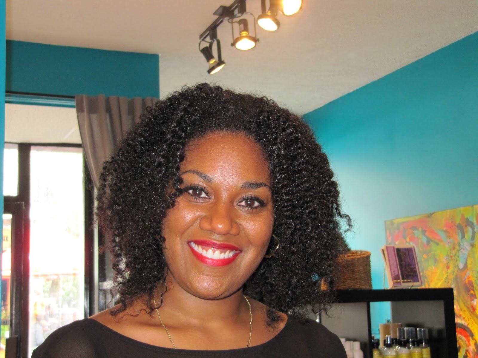 Salon de coiffure pour cheveux naturels a montreal