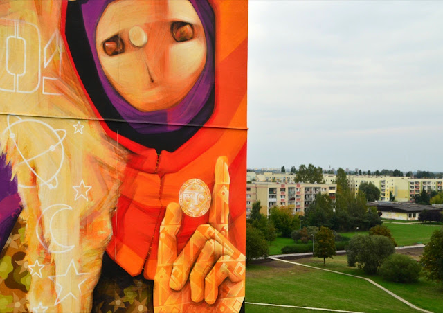 Street Art By Chilean Urban Artist INTI on the streets of Lodz For Fundacja Urban Forms 2013. 5