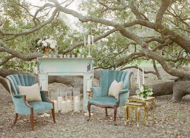 Inspired I Dos Romantic Outdoor Lounge Areas