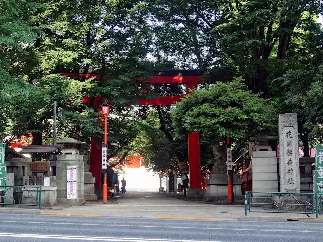 花園神社,鳥居,新宿〈著作権フリー無料画像〉Free Stock Photos
