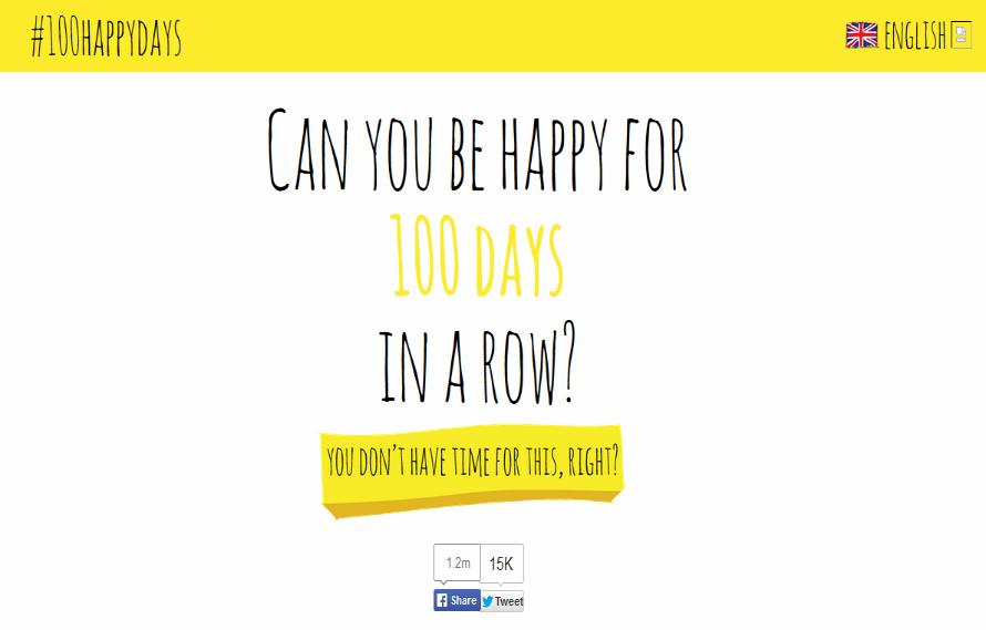 http://www.100happydays.com/