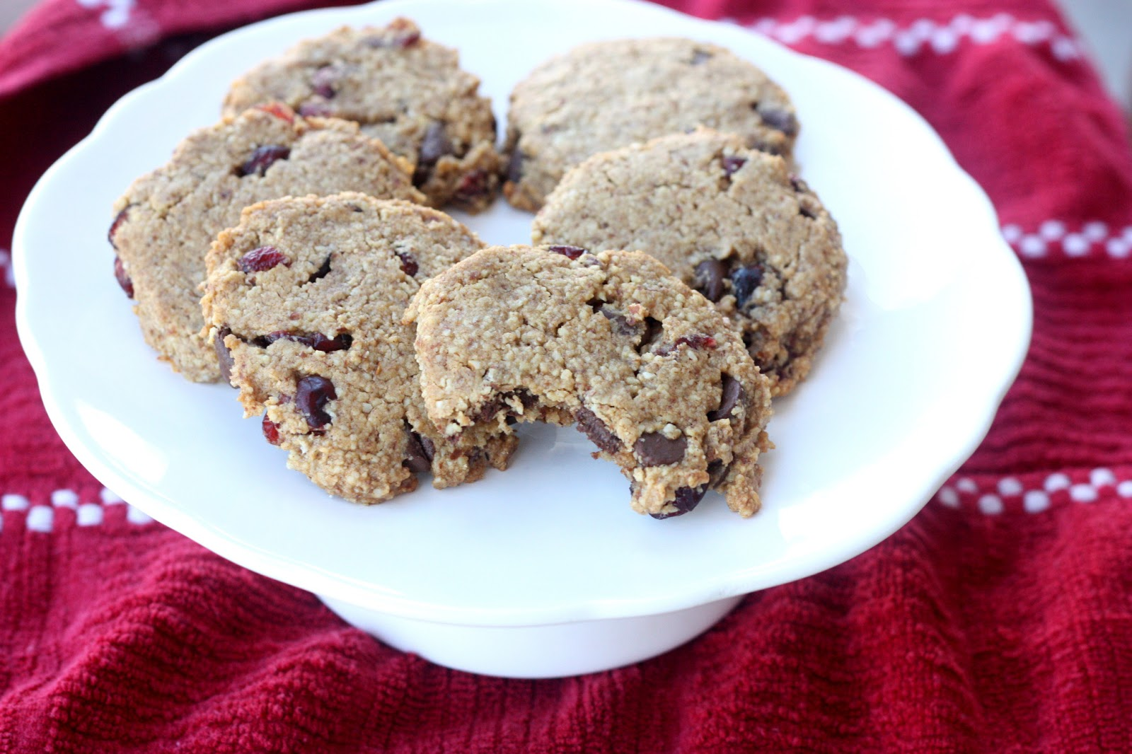 Healthy Almond Cranberry Cookies Everyday Reading Print