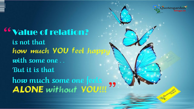 The Value of Relation-Heart touching Love n Relationship Quotes 691