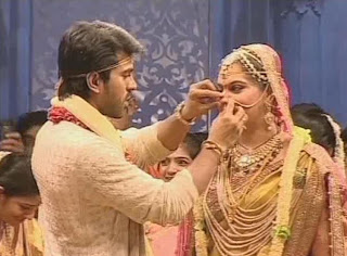 Ram Charan Marriage Images